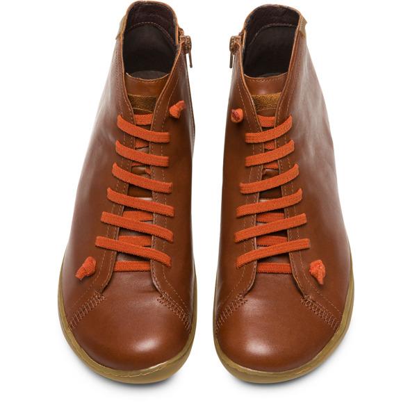 Camper Peu Brown Ankle Boots Men 36411-094