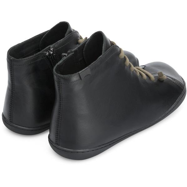 Camper Peu Black Ankle Boots Men 36411-095