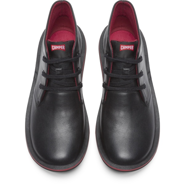 Camper Beetle Black Casual Shoes Men 36530-008