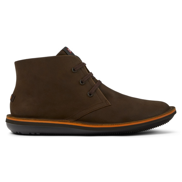 Camper Beetle Brown Ankle Boots Men 36530-059