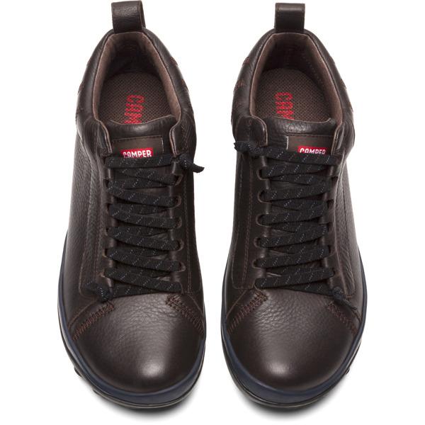 Camper Peu Pista Brown Ankle Boots Men 36544-061