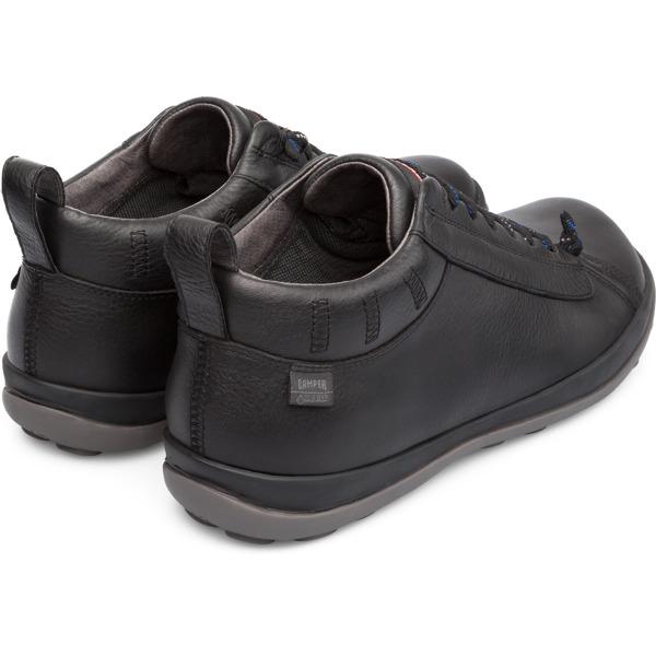Camper Peu Pista Black Casual Shoes Men 36544-065