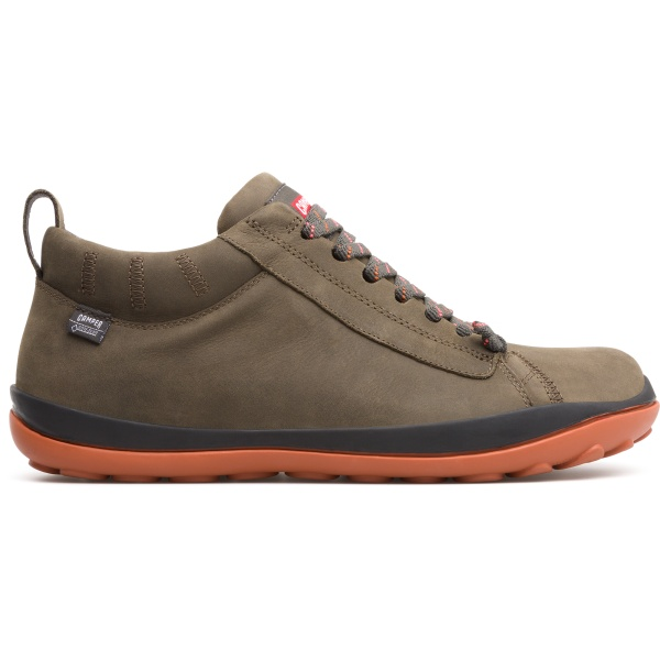 Camper Peu Pista Green Ankle Boots Men 36544-067