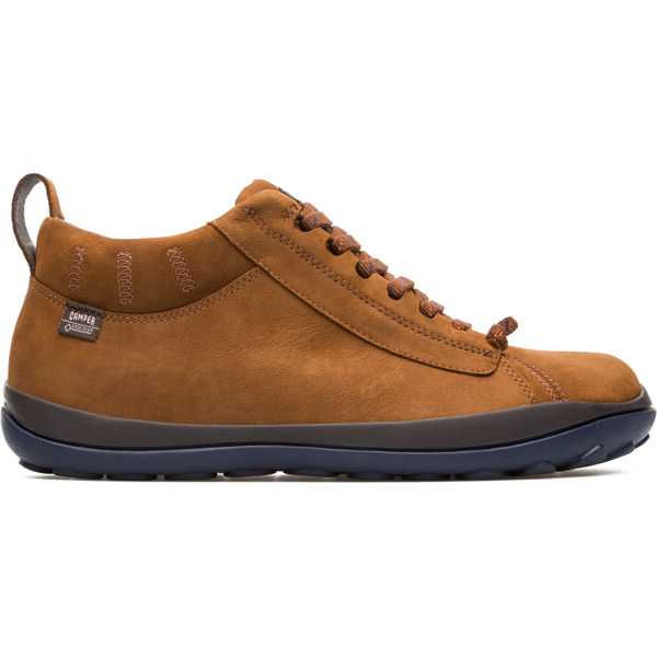 Camper Peu Pista Brown Ankle Boots Men 36544-068