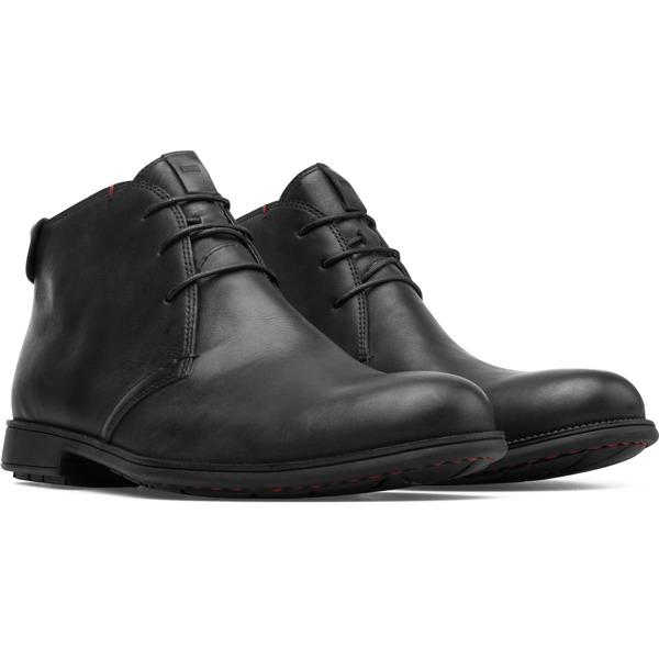 Camper Mil Black Formal Shoes Men 36587-052