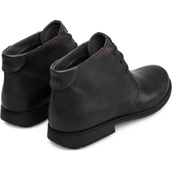 Camper Mil Black Ankle Boots Men 36587-052