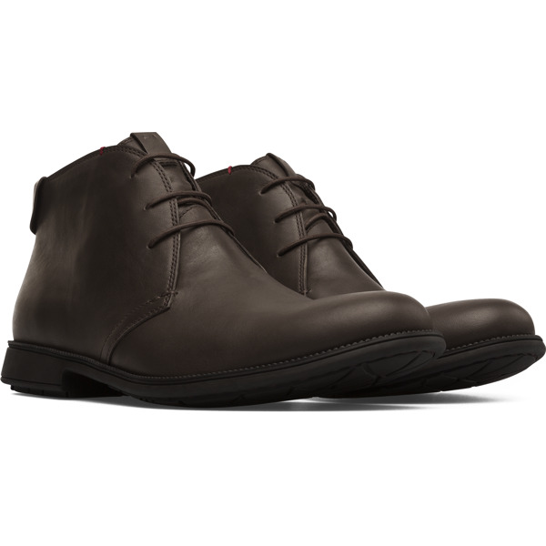 Camper Mil Brown Ankle Boots Men 36587-053