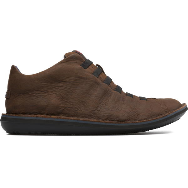 Camper Beetle Brown Ankle Boots Men 36678-053