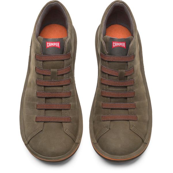 Camper Beetle Green Ankle Boots Men 36678-055