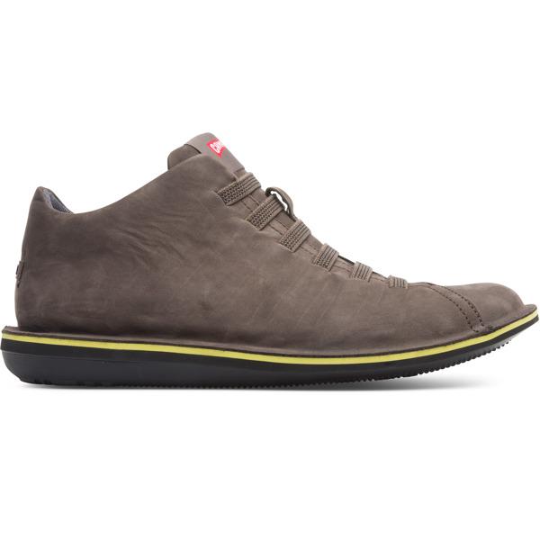 Camper Beetle Brown Gray Casual Shoes Men 36678-064