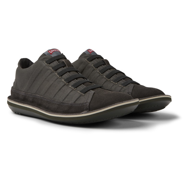 Camper Beetle Grey Casual Shoes Men 36791-001