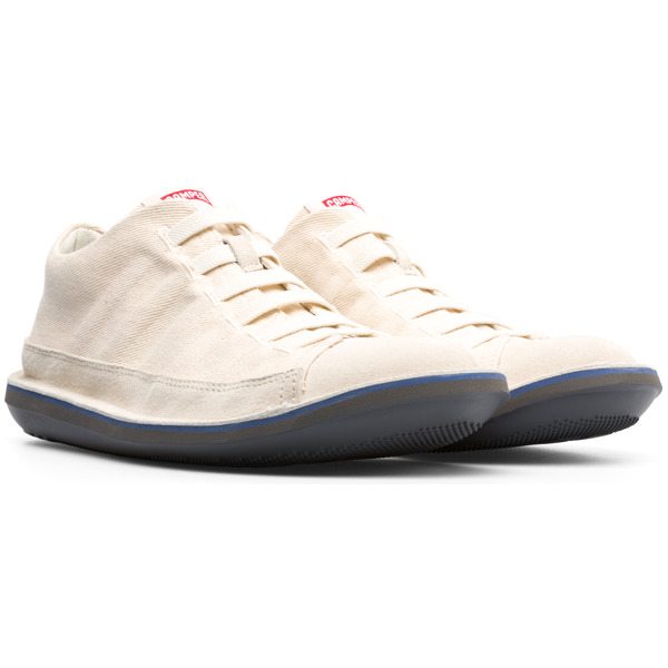 Camper Beetle Beige Ankle Boots Men 36791-048