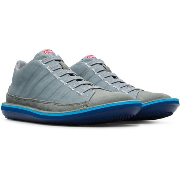Camper Beetle Grey Casual Shoes Men 36791-051