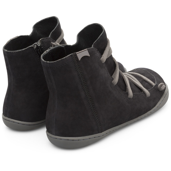 Camper Peu Black Ankle Boots Women 46104-098