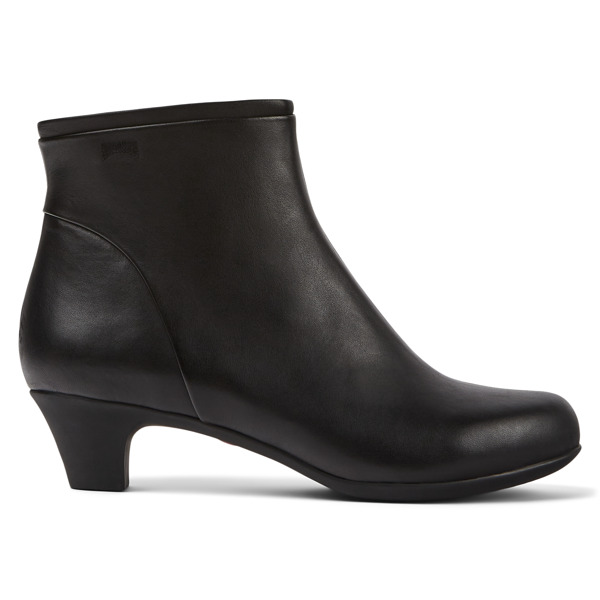 Camper Helena Black Ankle Boots Women 46232-036