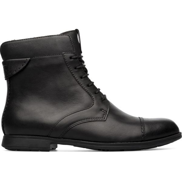Camper Mil Black Ankle Boots Women 46503-035