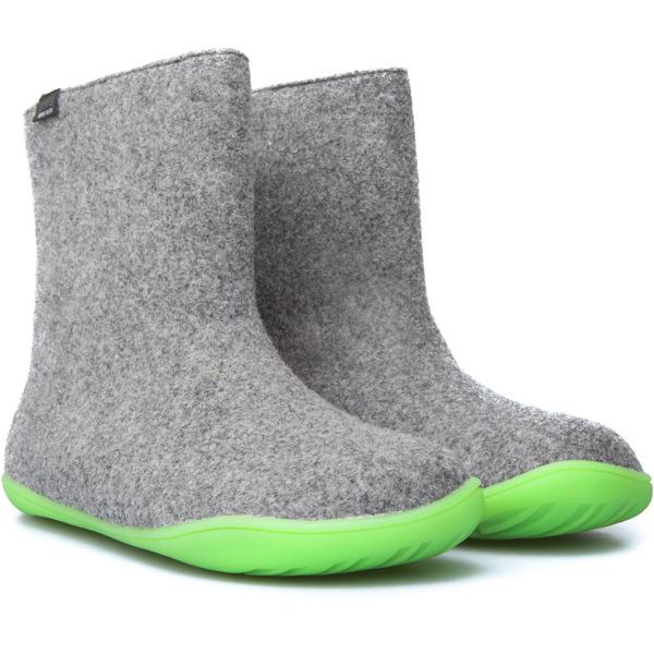 Camper Wabi Grey Ankle boots Women 46646 029   Grey ankle