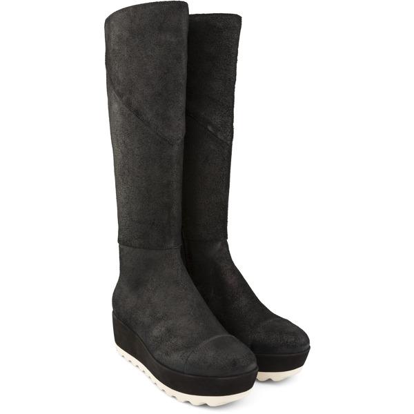 Camper Marta Black Ankle Boots Women 46785-001