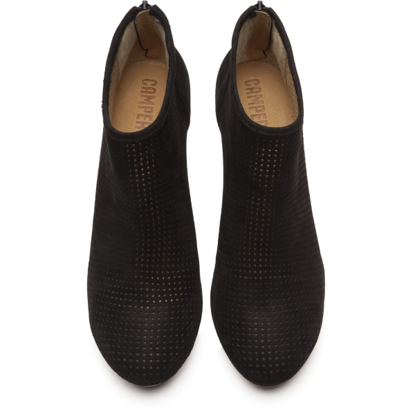 Camper Myriam Black Ankle Boots Women 46796-027