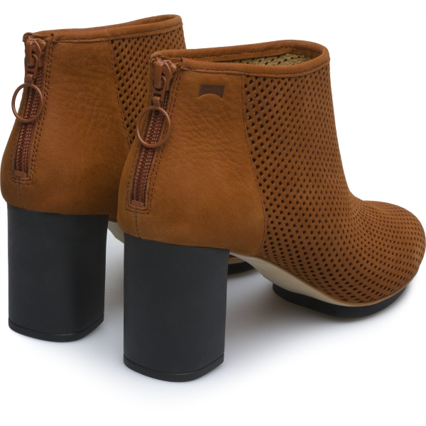 Camper Myriam Brown Ankle Boots Women 46796-030