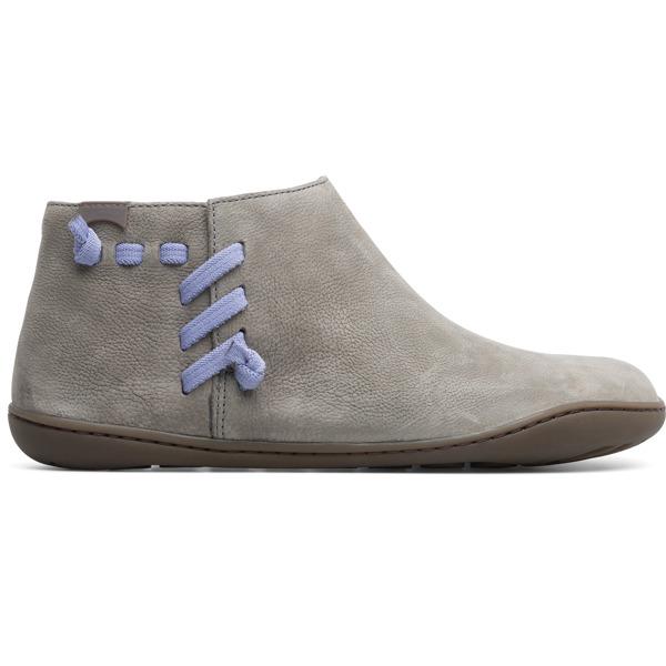 Camper Peu Grey Casual Shoes Women 46824-045