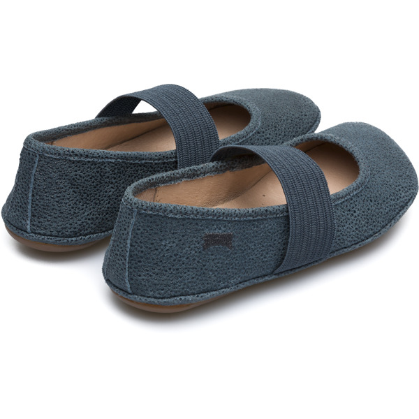Camper Right Blue Ballerinas Kids 80025-099