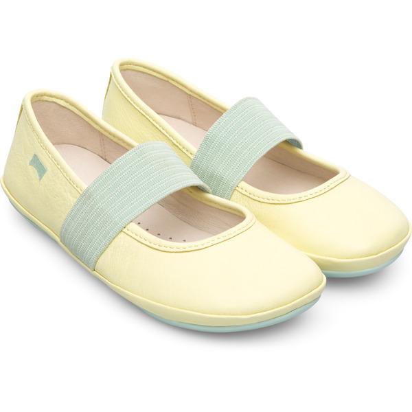 Camper Right Yellow Ballerinas Kids 80025-109