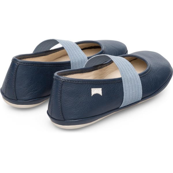 Camper Right Blue Ballerinas Kids 80025-111