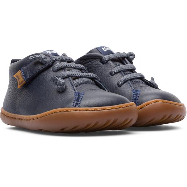 Camper Peu Blue Boots Kids 80153-066