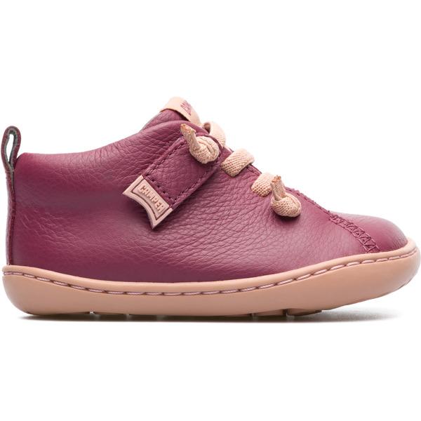 Camper Peu Purple Boots Kids 80153-067