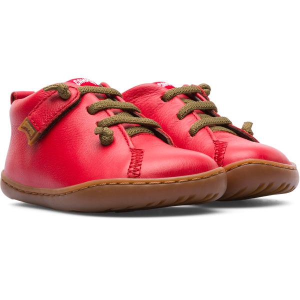 Camper Peu Red Boots Kids 80153-071