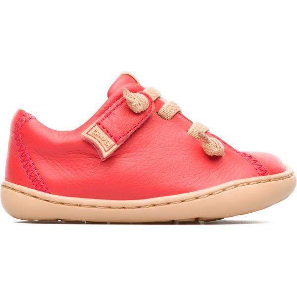 Camper Peu Pink Velcro Kids 80212-068