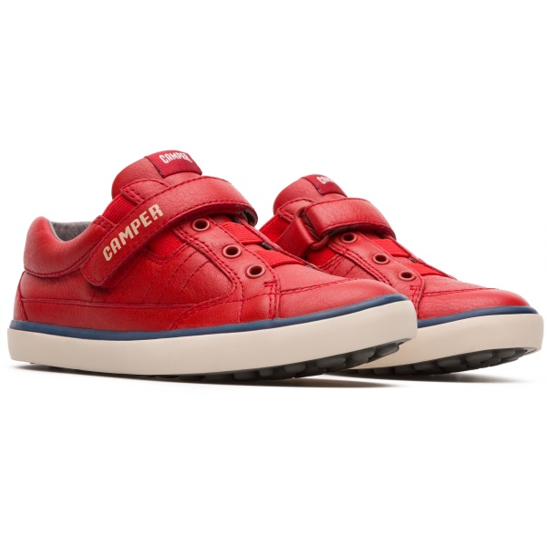 Camper Pursuit Red Sneakers Kids 80343-060