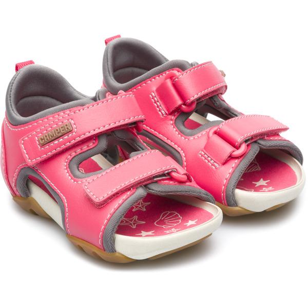 Zapatos grises formales Camper Ous infantiles E28Pfsriw