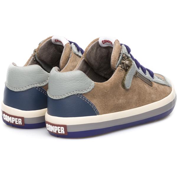 Camper Pursuit Brown Sneakers Kids 80535-026