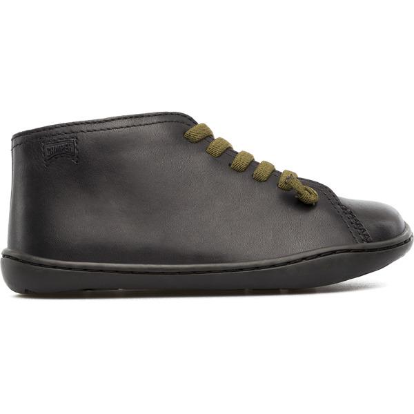 Camper Peu Black Ankle Boots Kids 90019-016