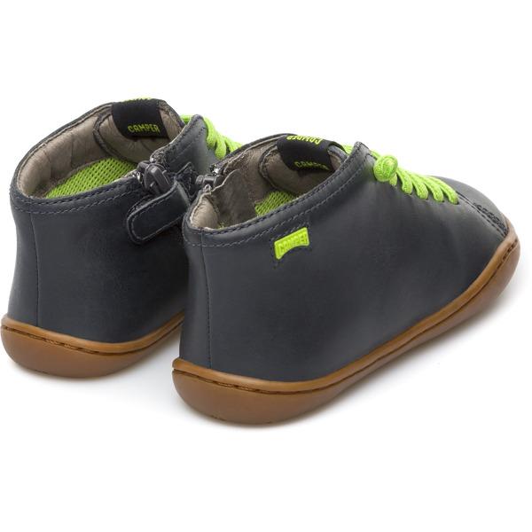 Camper Peu Grey Ankle Boots Kids 90019-066