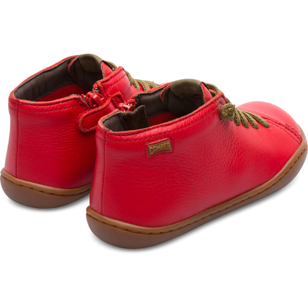 Camper Peu Red Boots Kids 90019-077