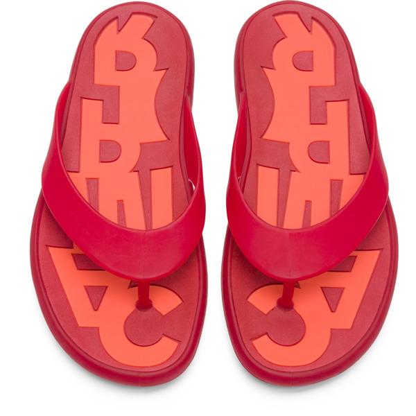Camper Dolphin Red Sandals Men K100044-006