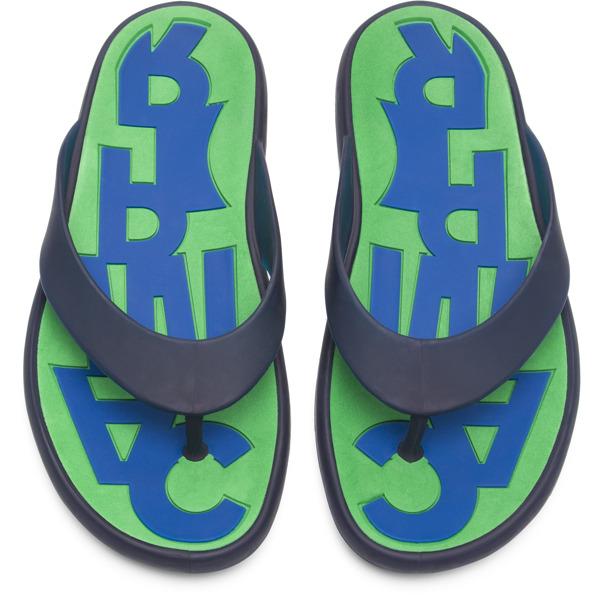 Camper Dolphin Blue Sandals Men K100044-007