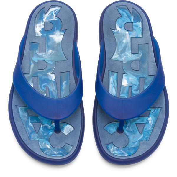 Camper Dolphin Blue Sandals Men K100044-008