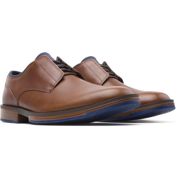 Camper Deia Brown Formal Shoes Men K100048-007