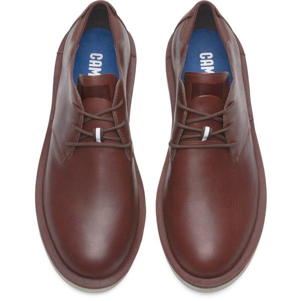 Camper Morrys Brown Formal Shoes Men K100057-011
