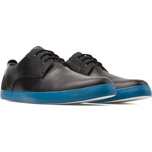 Camper Jim Black Formal Shoes Men K100084-020