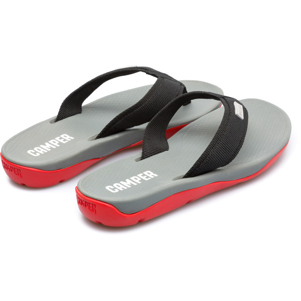 Camper Match Black Sandals Men K100182-005