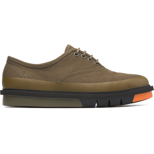 Camper Mateo Green Formal Shoes Men K100184-001