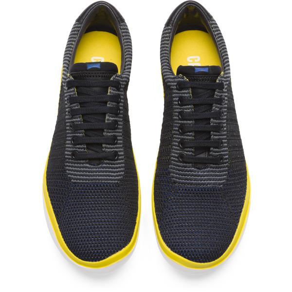 Camper Peu Slastic Black Sneakers Men K100197-001