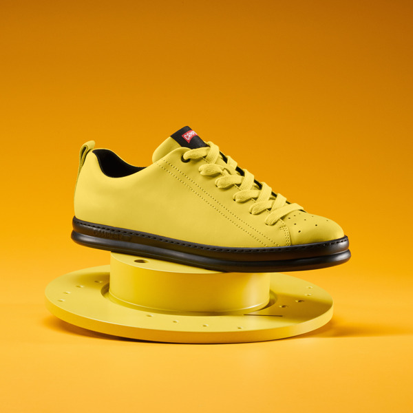 Camper Runner Yellow Sneakers Men K100226-037