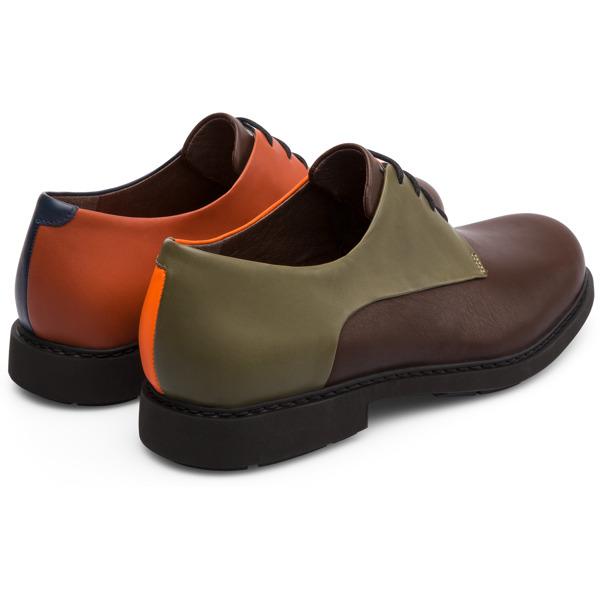 Camper Twins Multicolor Formal Shoes Men K100240-006