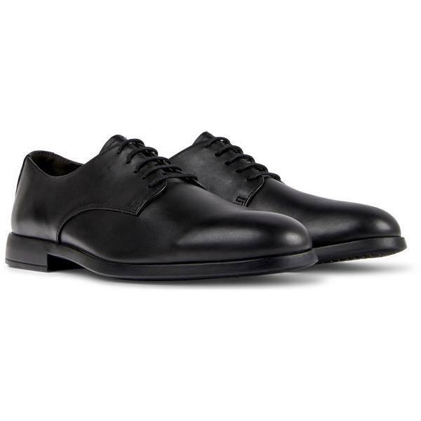Camper Truman Black Formal Shoes Men K100243-001